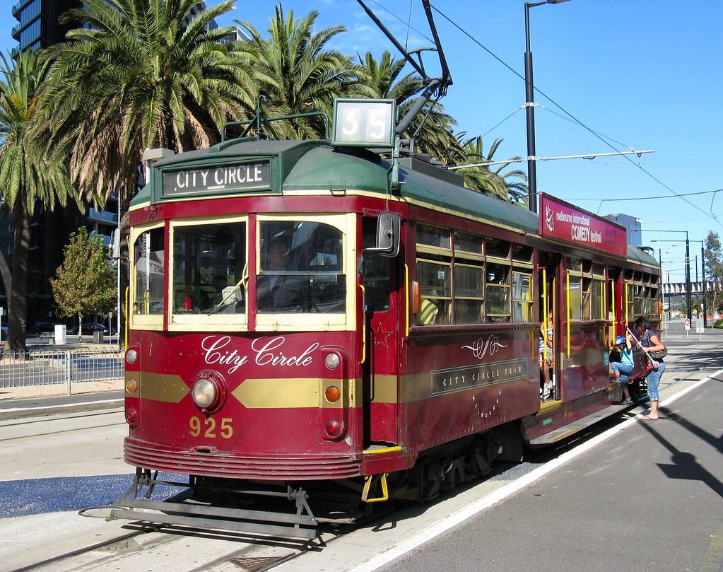 Melbourne City Circle Tram Melbourne S Famous W Class