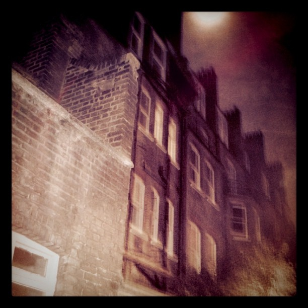 Dark London Alley