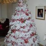 Pink Flocked Christmas Tree Eli Anne Marie Flickr