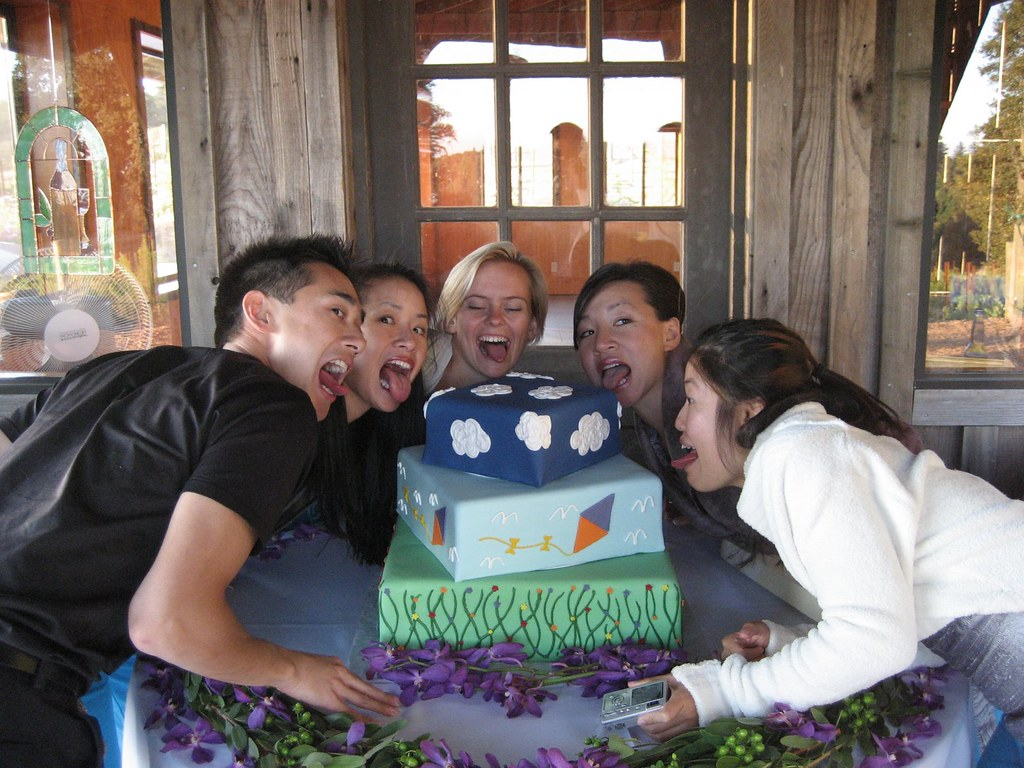 The Wheat-Full Wedding Cake