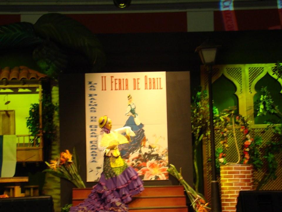 II Feria de abril Las Palmas Gran Canaria personas 20