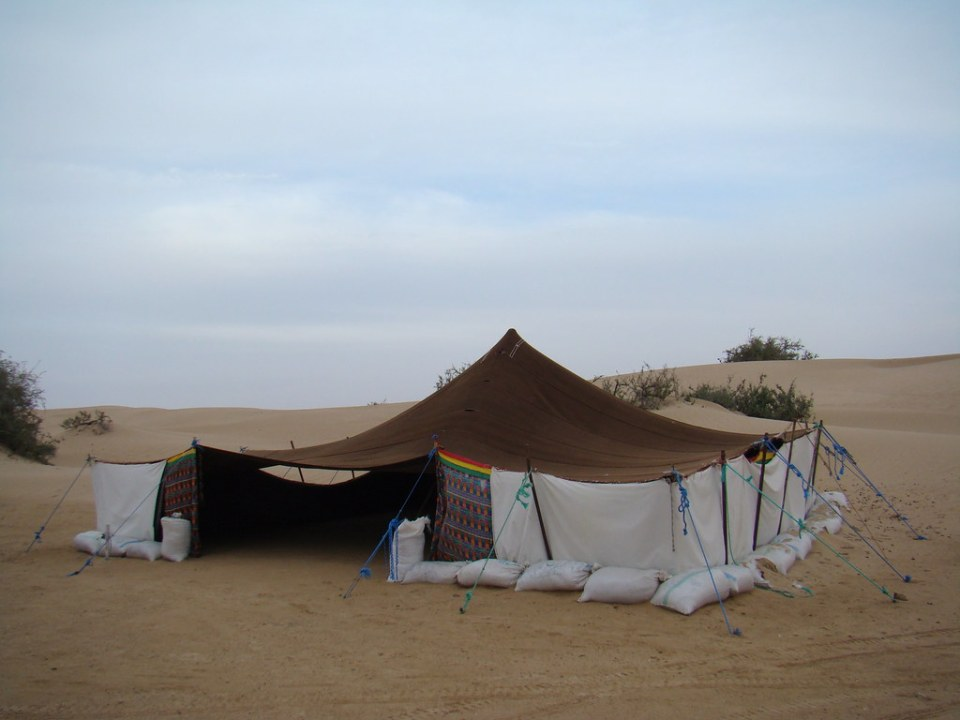 Desierto del Sahara habitat jaimas 07