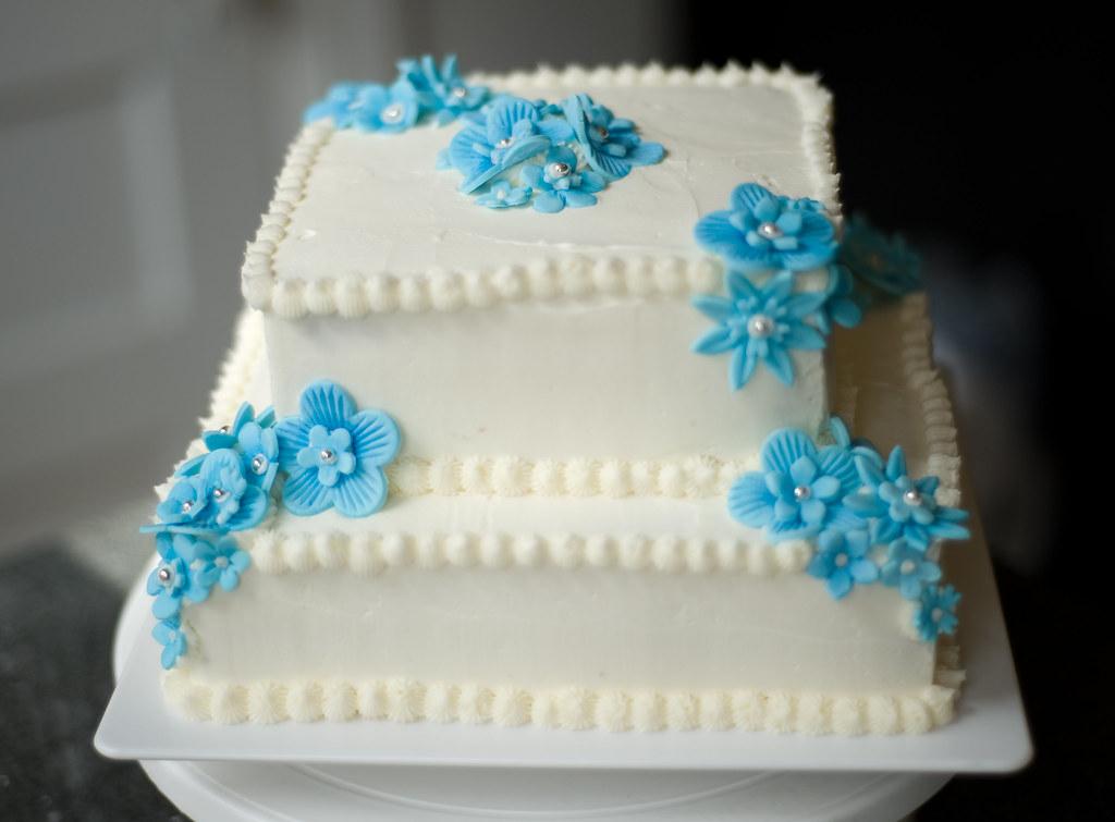 Springtime Birthday Cake Almond Sour Cream Pound Cake Wit