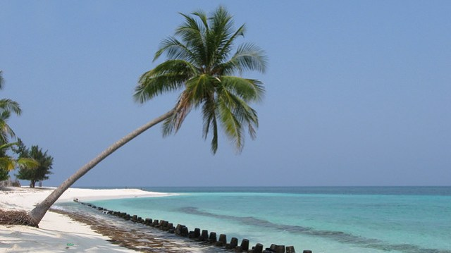 Northern Beach of Agatti Island