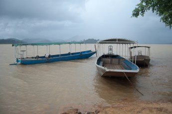 Boote am Lak See (Ho Lak)