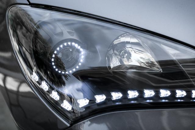 Daniel's Satin Black Switchback Headlights