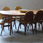 On Deck Danish Mid Century Modern Dining Set Arne Hovmand Olsen Side Chairs Grete Jalk Armchairs And Expandable Round Teak Dining Table Denmark 1960s A Photo On Flickriver