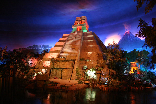 Disney Epcot Center Mexico