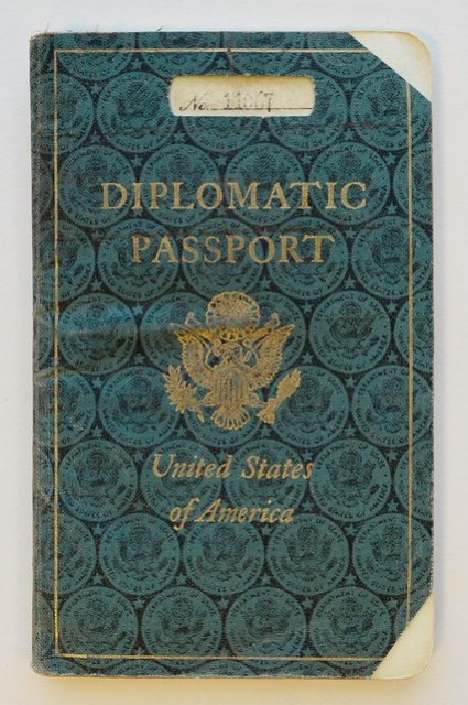 Award, Diplomatic Passport, and Day Planner