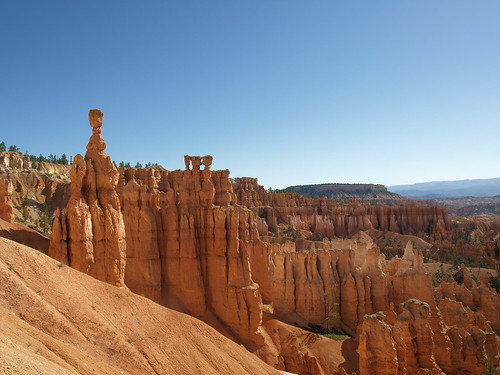 Hoodoos in Bryce Canyon