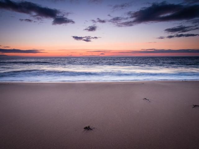 Dusk at Redpoint Beach, Wester Ross
