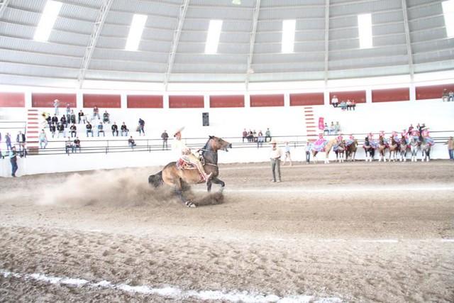Gran Charreada de Gala de la Feria de Nopala de Villagrán 2013