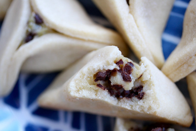 Choc Chip Vanilla Cream Hamantaschen - 38