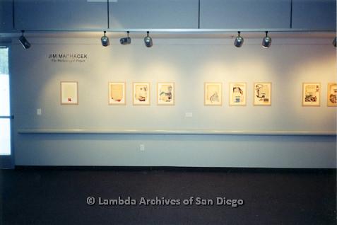 P126.040m.r.t Michelangelo Project by Jim Machecek: Front of exhibit