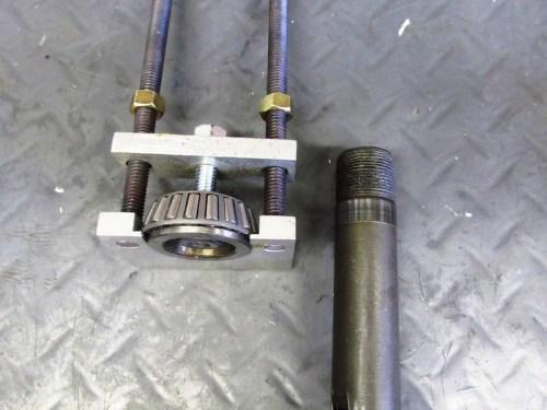 Lower Steering Stem Inner Race Removed