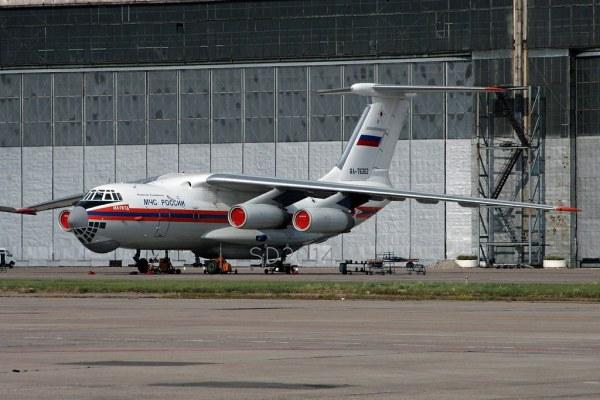 RA-76362 Iluyshin IL-76TD MChS Rossii - Russia Ministry fo ...