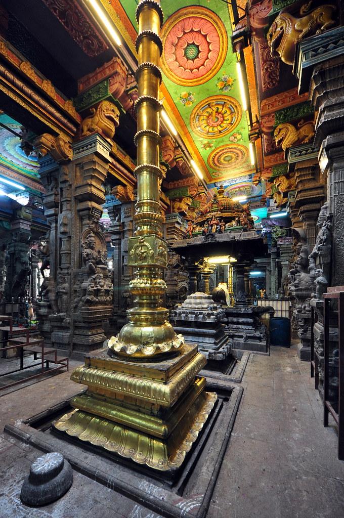 India - Tamil Nadu - Madurai -  Meenakshi Temple - 45