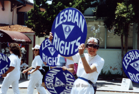 San Diego LGBTQ Pride Parade, 1992 National Organization For Women, Lesbian Rights Campaign