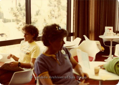 Blood Sisters blood drive , 1983: Jeri Dilno