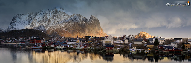 Reine on a winter afternoon #3