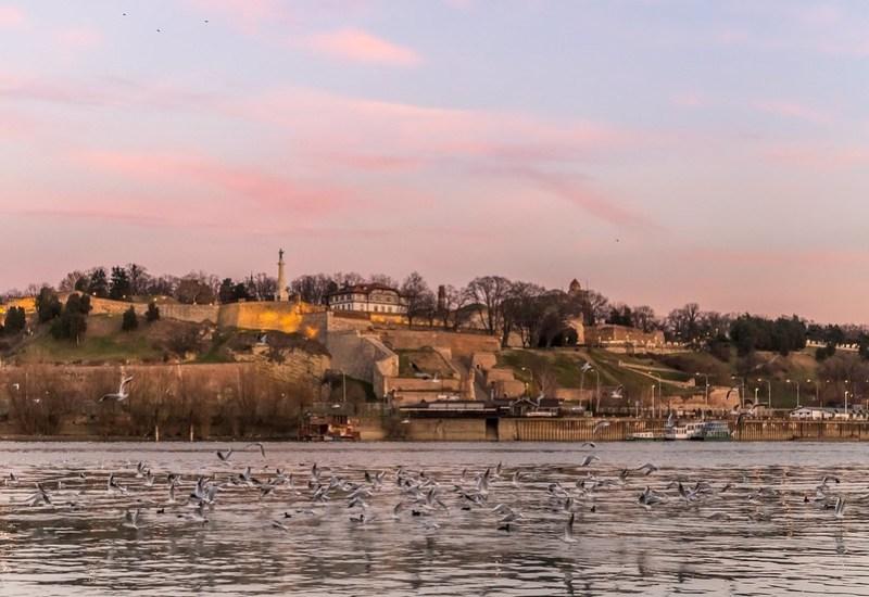 Evening Sky Belgrade