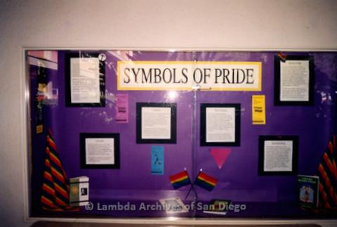 P122.031m.r.t Displays: Symbols of Pride display