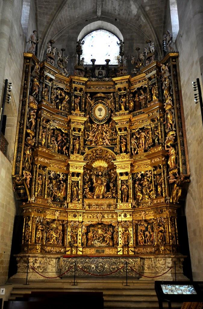 Resultado de imagen de retablo Forment Santo Domingo de la Calzada