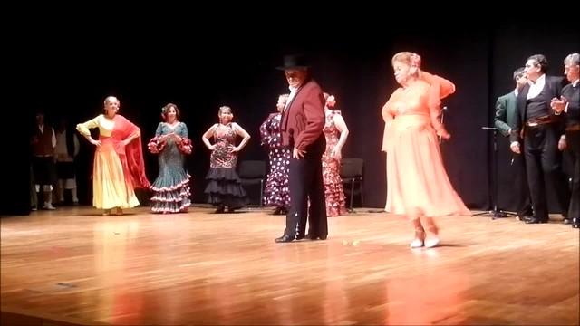 Juan Armas y su esposa Carmen - Pasodoble - II Encuentro Intercultural Virgen de Coromoto
