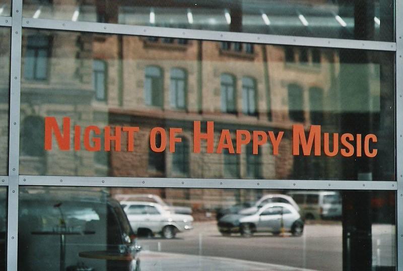 2000-05-06 Night of Happy Music, Konzert Reithalle, 6. Mai 2000