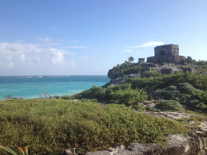 Mayan Temple, Tulum, Yucatan