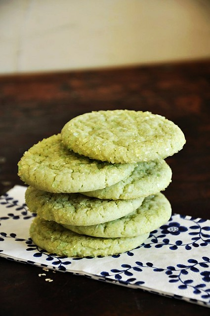 Lime Sugar Cookies