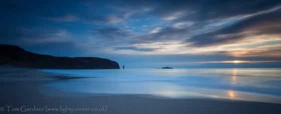 Sandwood Bay, dusk