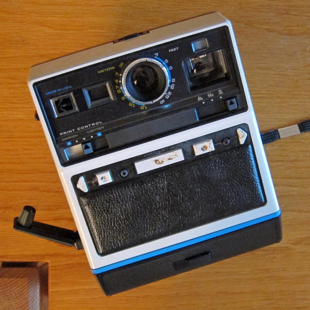 Kodak EK6 instant camera