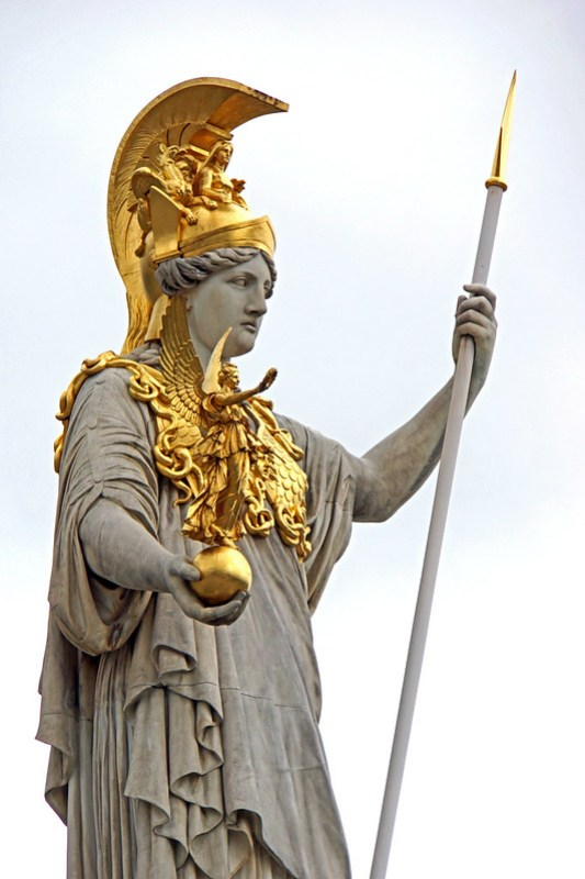 Austria-00136 - Pallas Athena