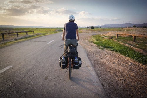 Cycling into Khuzestan's gas region