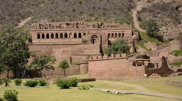 The Palace - Bhangarh Fort