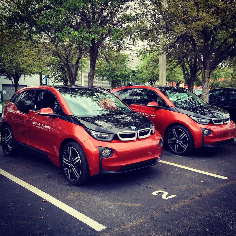 BMW i3 test drive at Reeves Imports