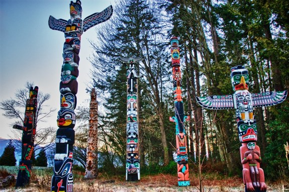 Stanley Park Haida Totem Poles | The rich cultural heritage … | Flickr