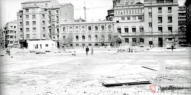 Plaza de Salamero 1970
