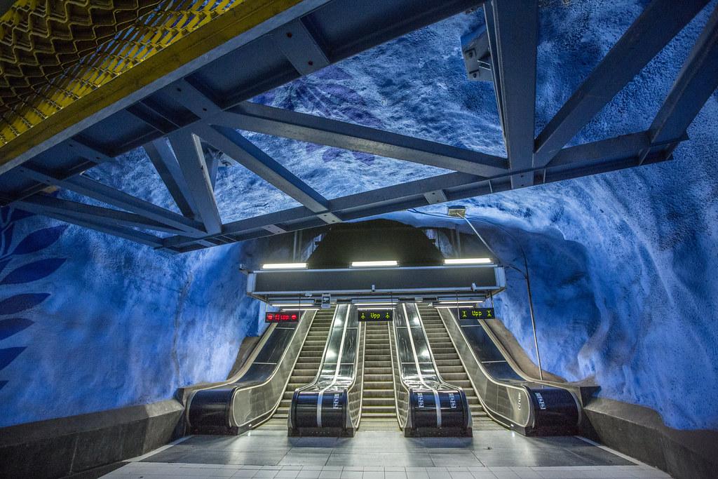 T-Centralen Metro Station