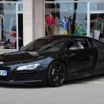 Audi R8 Looks Quite Good All Black Supercarlust Flickr