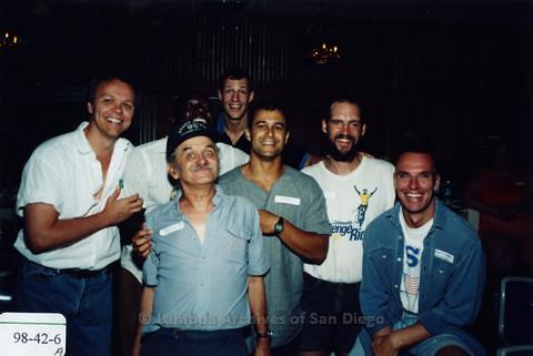 San Diego Pride Volunteer Appreciation Party at Aztec Bowl, San Diego State University August 1998
