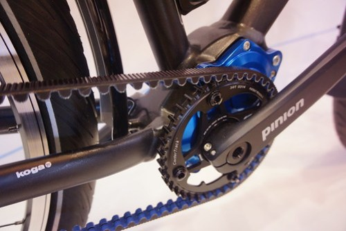 Eurobike 2014: Koga World Traveller Pinion detail