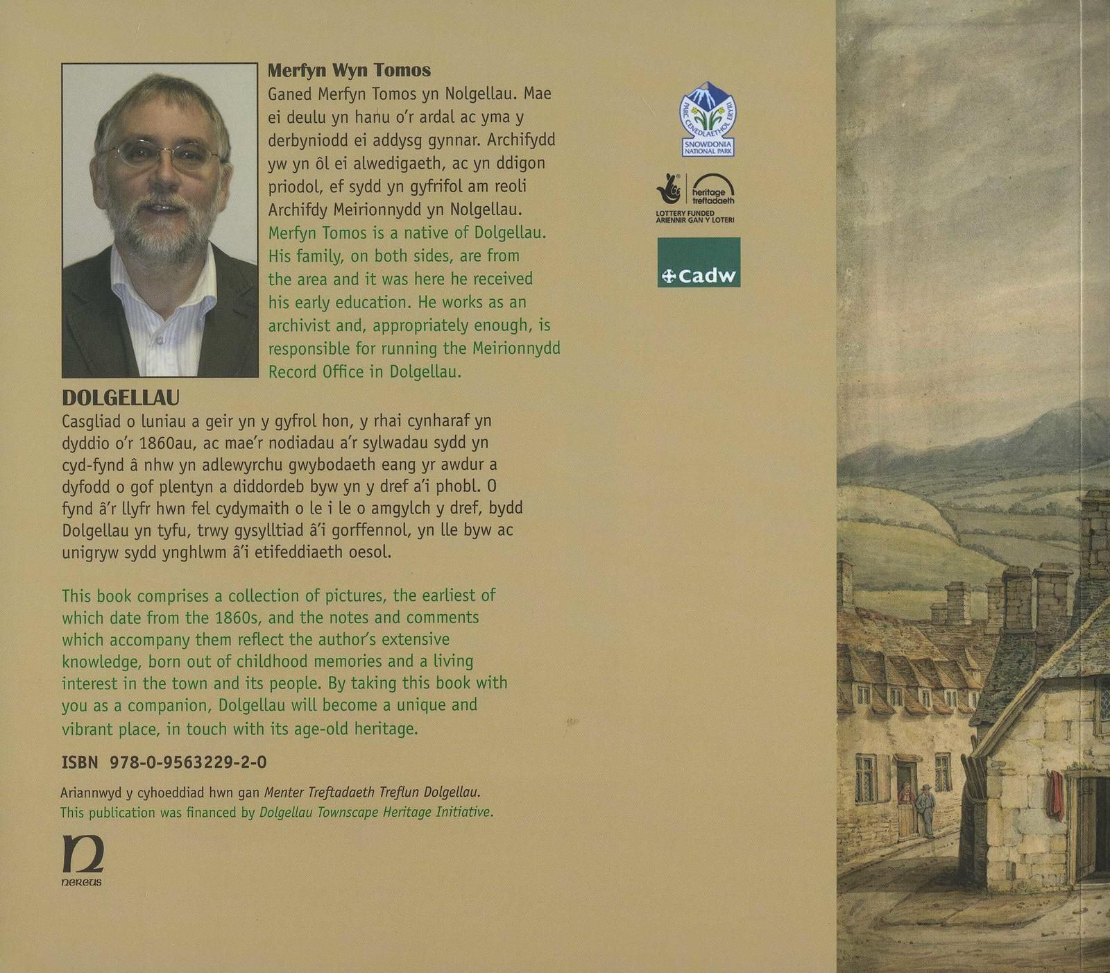 Dolgellau Book (2011) Back Cover