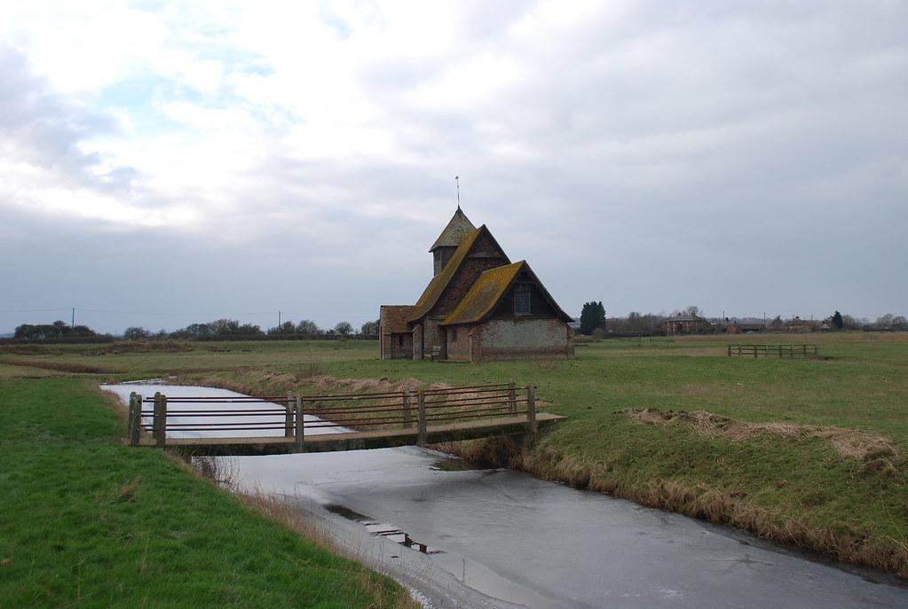 Saint Thomas a Becket Church, Fairfield, Walland Marsh, Ke…   Flickr