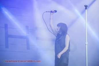 Chvrches @ Squamish Valley Music Festival - August 9th 2014
