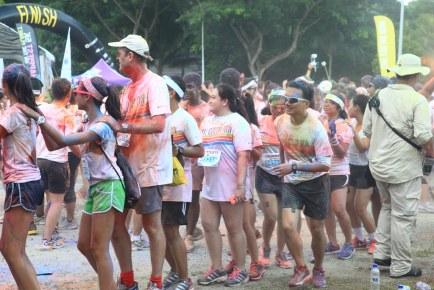 The Color Run Singapore 2014