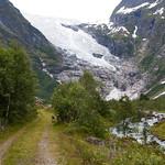 6 viajefilos en Noruega, Suppehellebreen y Boyabreen 03