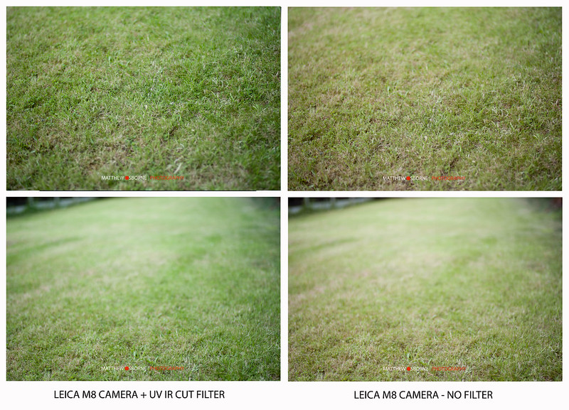 Marumi UV IR Cut Filter Test
