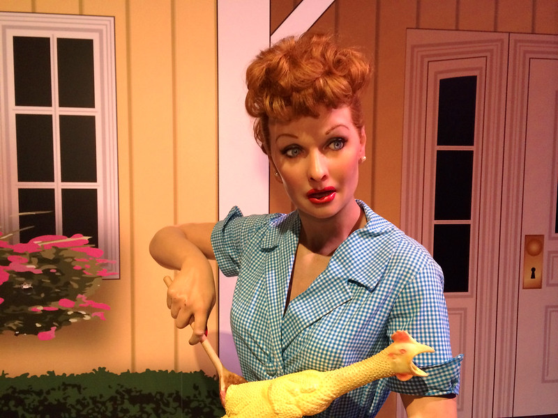 Lucille Ball @ Madame Tussauds